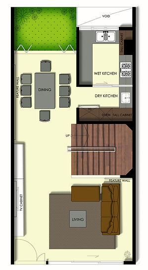 Case Study 1st storey new floor plan