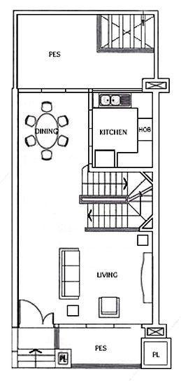 Case Study 1st storey original floor plan
