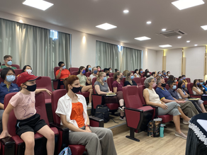 Full audience as 50+ HKAA Staff Prepare for the Great start of 2021-2022