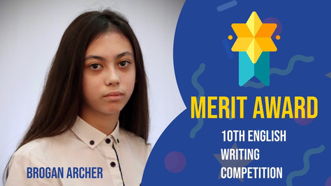 HKAA Student award on English Writing competition