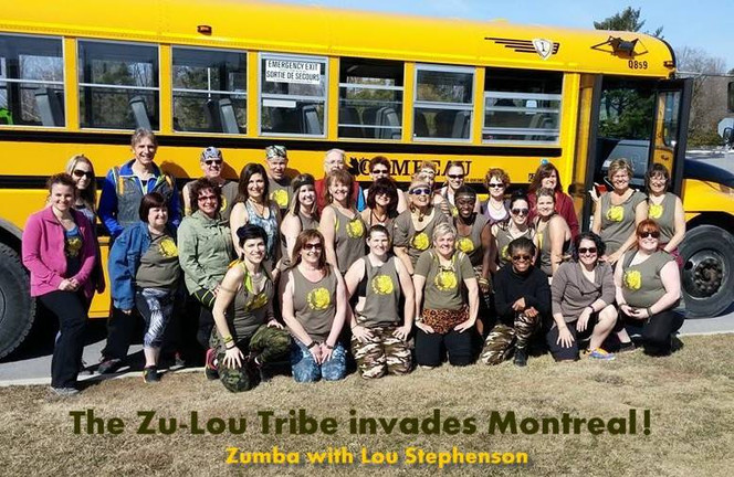 The Zu-Lou Tribe invades Montreal!