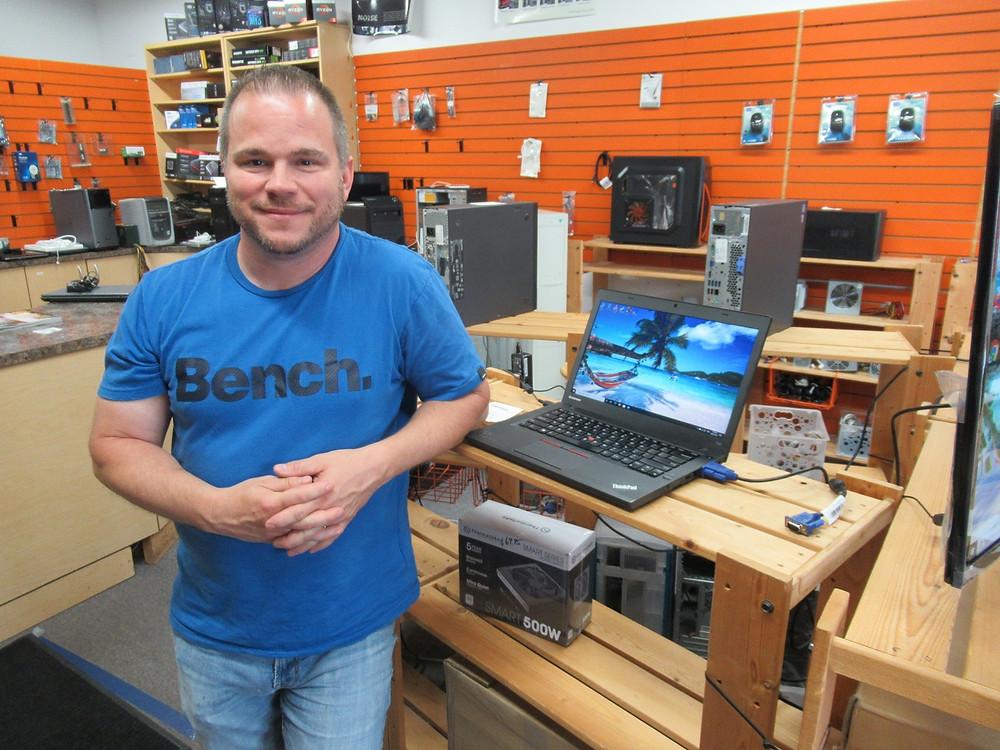 Yves Bedtek as owned Bedtek Computers for more than 20 years.