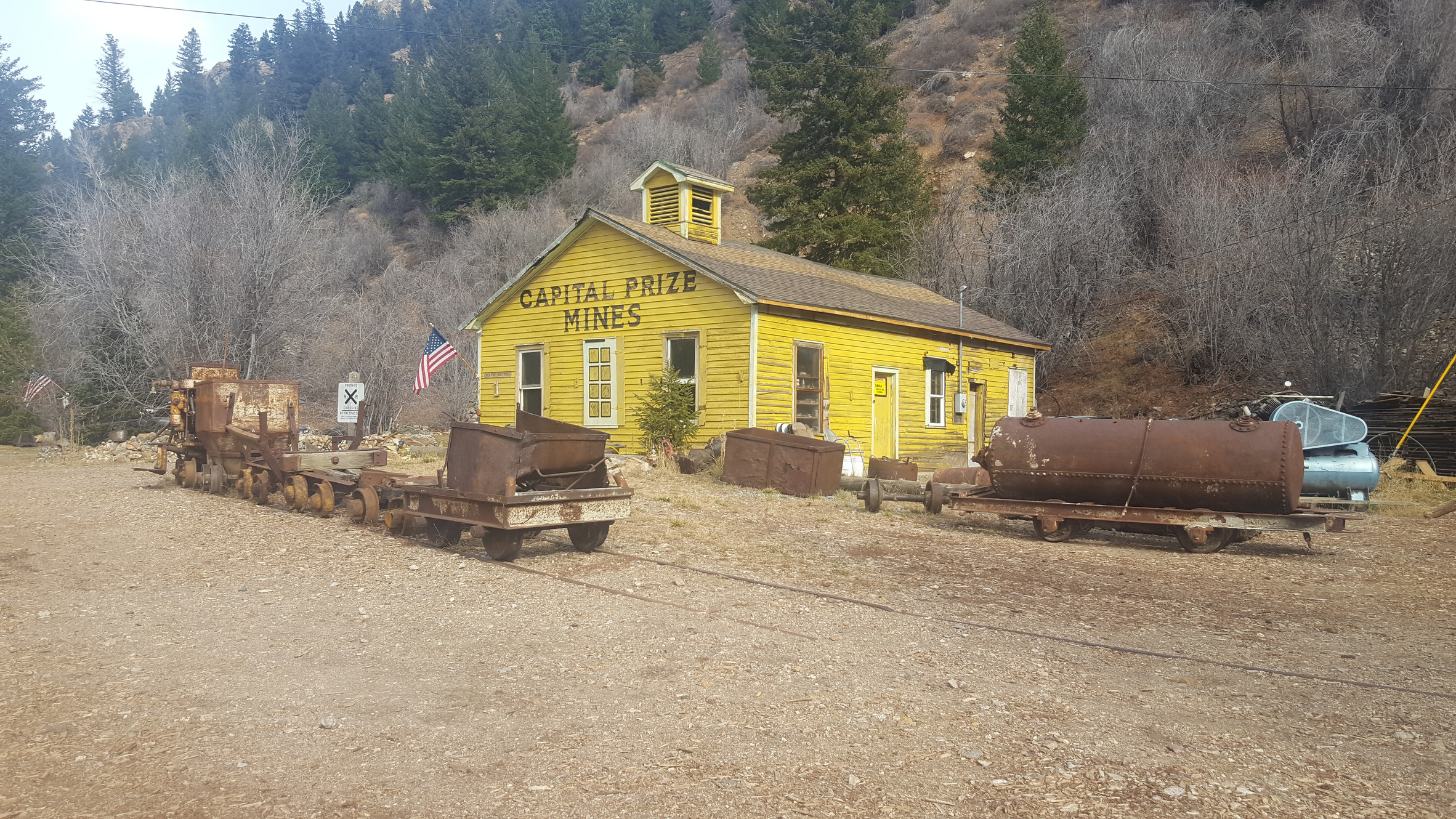 Capital Prize Gold Mine Tours | Georgetown | Things to do in