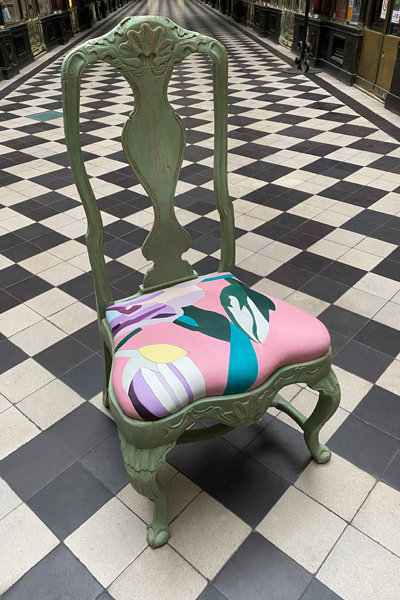ANTIQUE CHAIR 03 upcycled
