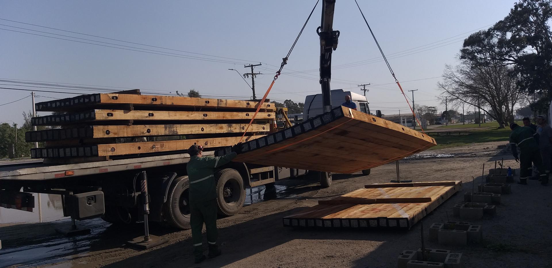 Unloading E7M