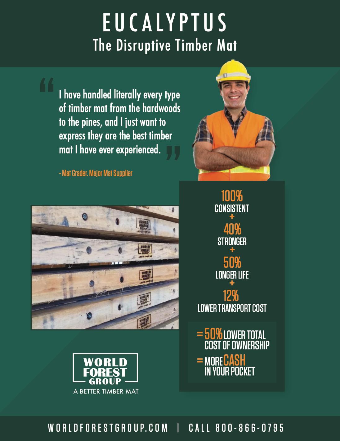 The Disruptive Timber Mat