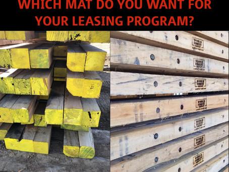 Can A Better Timber Mat Help Your Leasing Program?
