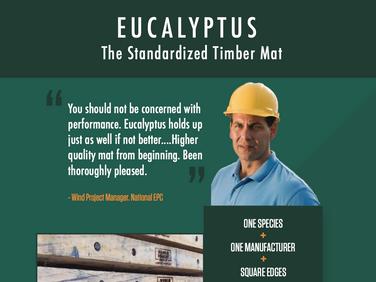 Standardized Timber Mat