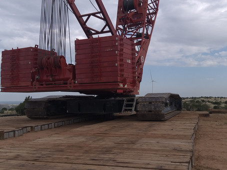 Lower cost, higher quality and more sustainable crane mats