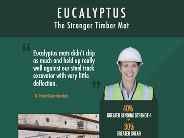 Stronger Timber Mat