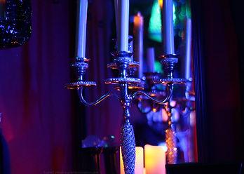 candelabra image in austin texas dominatrix Scarlet Vexus's dungeon