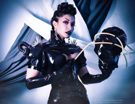 Austin Texas Dominatrix and Femdom Fetish Professional Mistress Scarlet Vexus