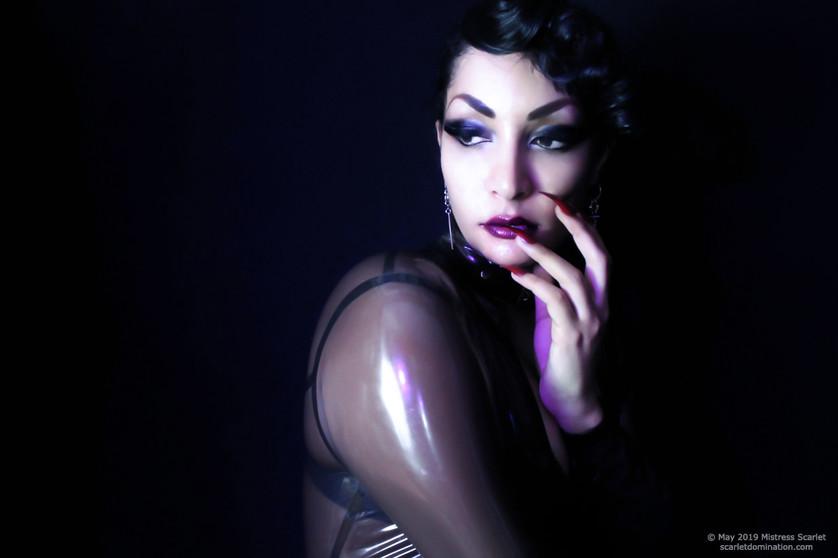 portrait of austin based dominatrix