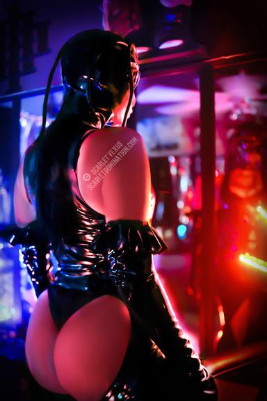 Austin Dominatrix Mistress Scarlet Vexus Fetish BDSM and Femdom Artist -Bondage Domme - Kink Domina - S&M female domination