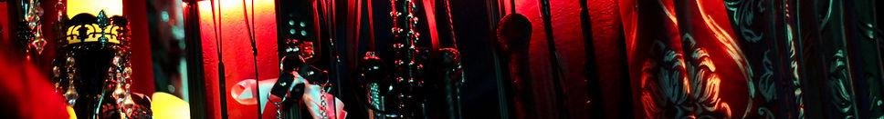 Fetish Page header for texas dominatrix scarlet vexus