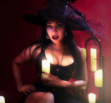 Witchy femdom with Scarlet Vexus