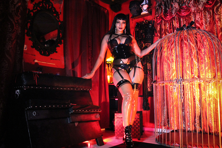 BDSM and Kink Curator and Dominatrix in Austin Texas Dungeon
