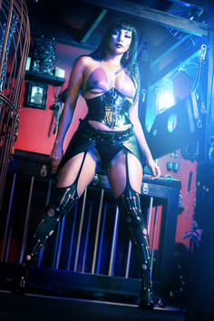 Texas Domme and Austin Mistress Scarlet Vexus - Femdom BDSM and Kink Focused Dominatrix