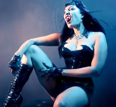 Vampire goddess and Professional Dominatrix