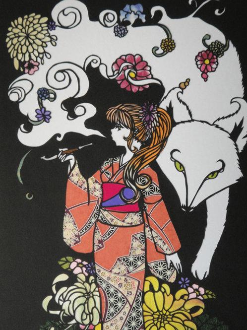 White Fox -By Meiko Hitsujino