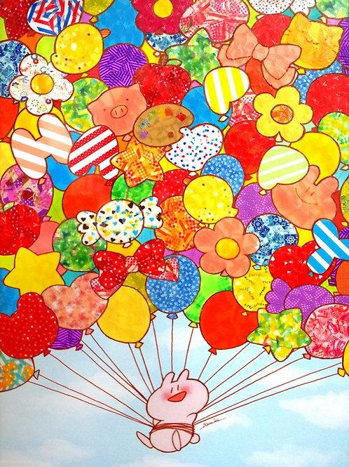 Balloon Walk -By Itoharu