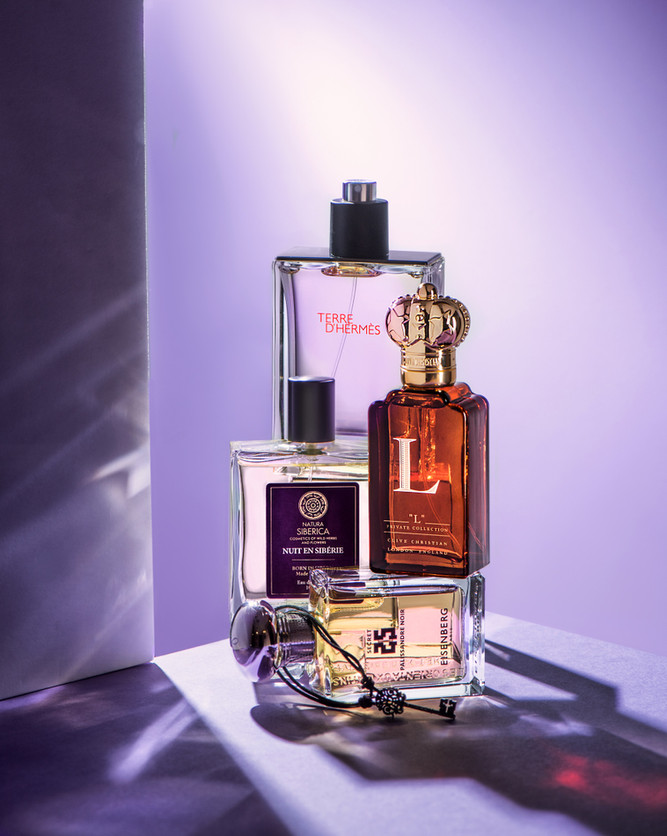 Съемка мужского парфюма для журнала TOPBEAUTY