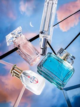 Съемка парфюма разных брендов