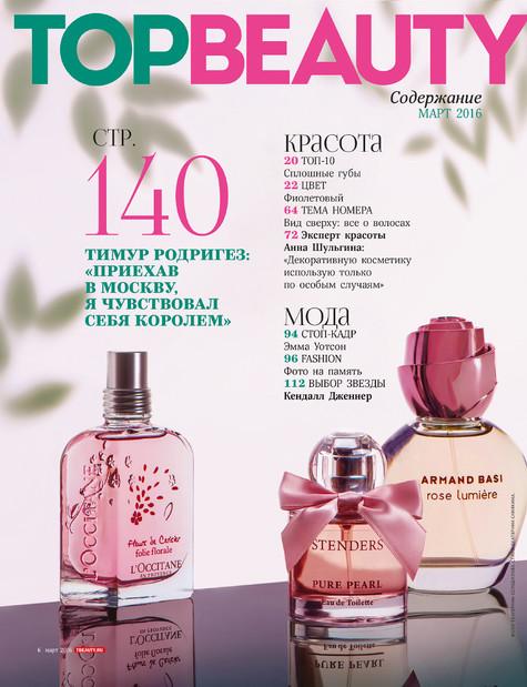 Фотосъемка парфюма в контент журнала TOPBEAUTY