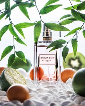 Съемка парфюма для журнала TOPBEAUTY