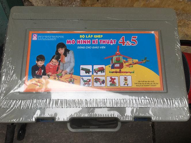 Bộ lắp ghép mô hình kĩ thuật 4&5 dành cho Giáo viên
