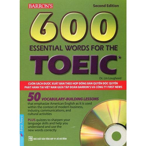 Barron's 600 Essential Words For The TOEIC (Kèm 2 CD)