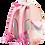 Thumbnail: BALO CHỐNG GÙ LITTLE OWL B-12-051 HỒNG NHẠT