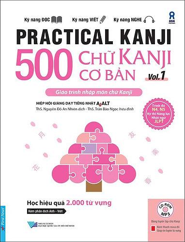 500 Chữ Kanji Cơ Bản Vol.1