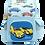 Thumbnail: BALO CHỐNG GÙ SUPPER CAR B-12-053 XANH DƯƠNG NHẠT