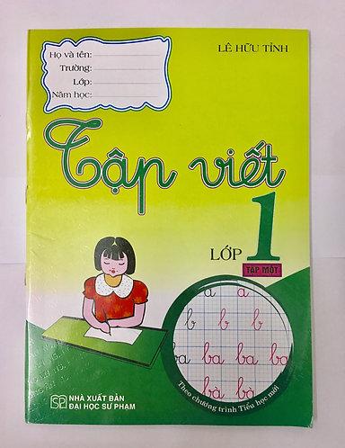 Sách bổ trợ lớp 1: Tập viết lớp 1 - Tập 1