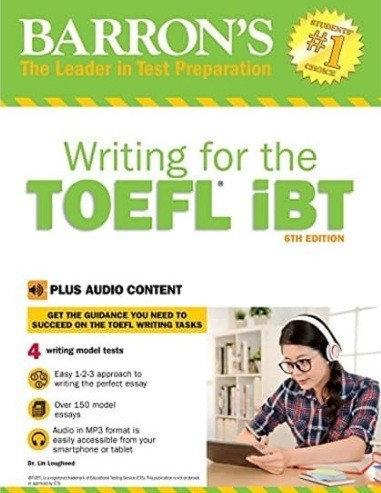 Writing For The TOEFL IBT Full Ebook + Audio