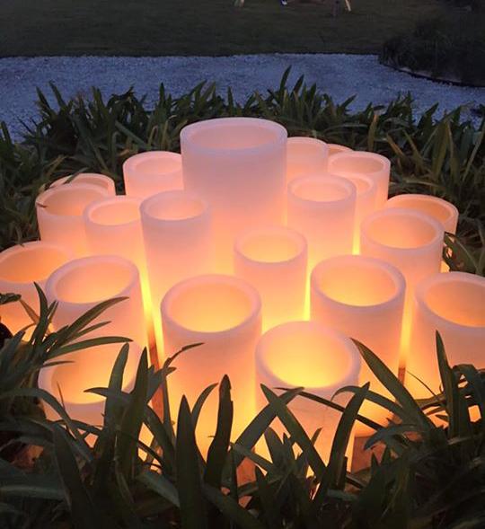 Candle Bonfire