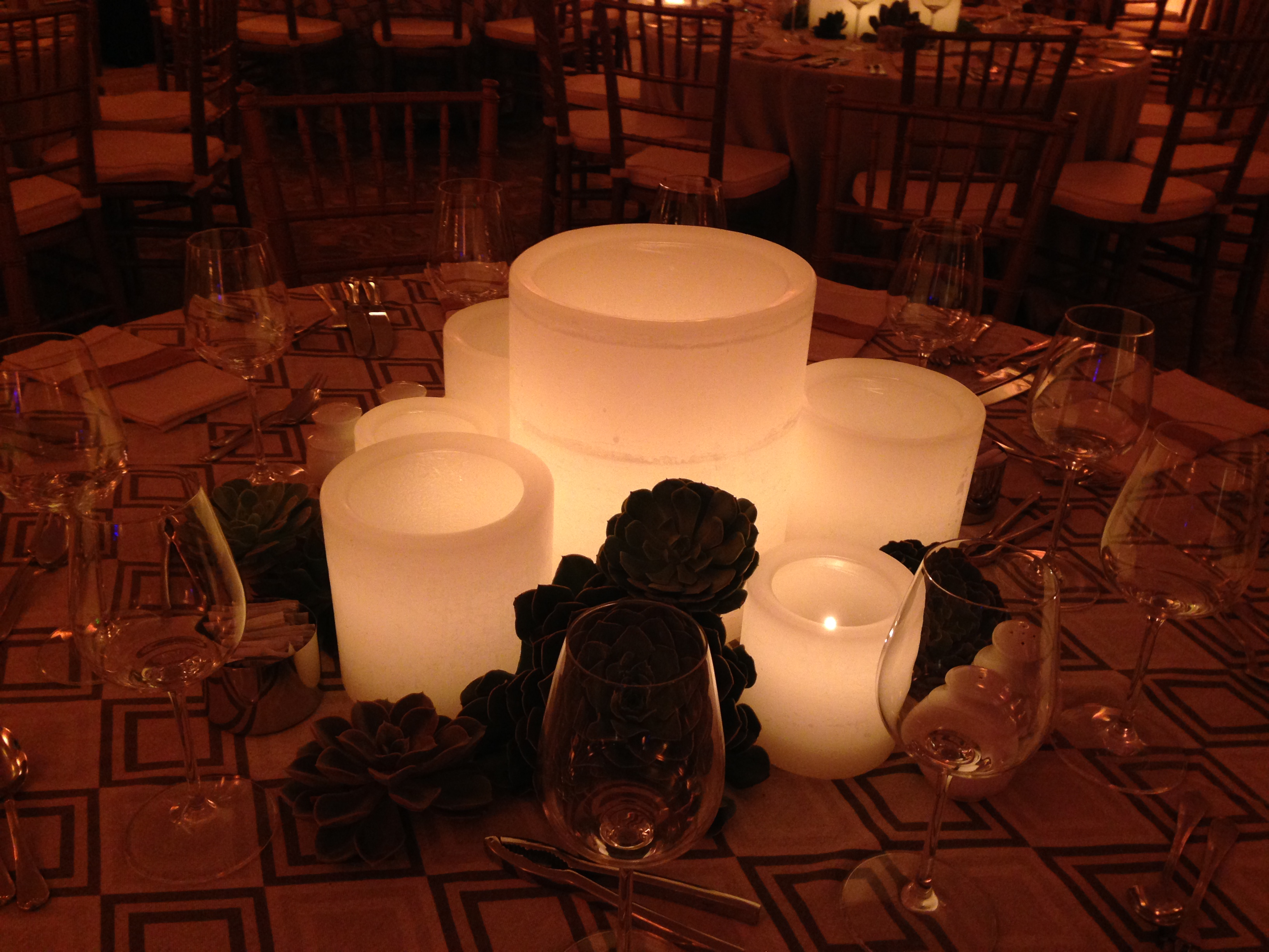 Centerpieces for event rentals