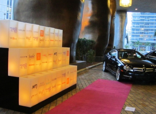 Step and Repeat Branding candles