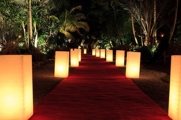 Wax lantern entrance