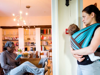 Une journée dans une maison Magnificat, pour les femmes enceintes en difficulté
