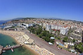 Hôtel village de vacances spicine, vue mer, proche cannes théoule sur mer