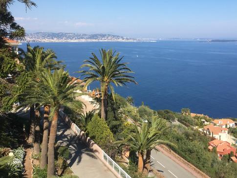Villa Saint Camille vue sur la baie de Cannes