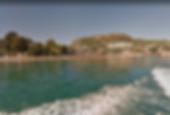 Plage de l'aiguille Hôtel village vacances vue mer proche de cannes théoule-sur-mer avec piscine