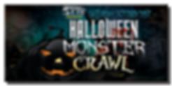 Halloween Monster Crawl Showpass Banner.