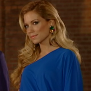 Makeup for Sylvie Meis.