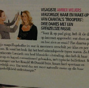 Little interview in a magazine.