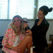 Behind the scenes with Nikkie Plessen.
