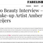 Interview for Fabelish.com