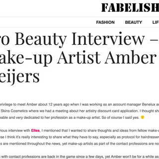Interview for Fabelish.com